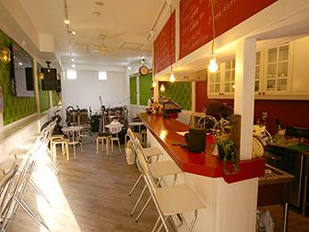 素敵なデザインのカフェに仕上げてくださり感動です。