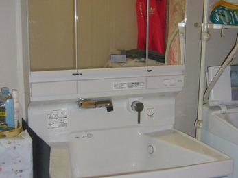素敵な洗面化粧台になりとても嬉しいです。