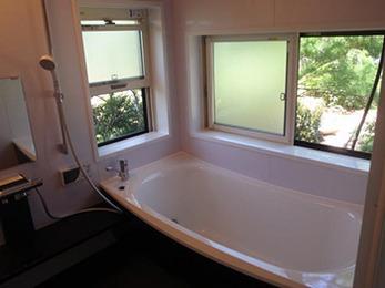 浴室が広くなり、リゾート感のあるクレイドル浴槽で毎日のバスタイムが楽しくなりそうです。