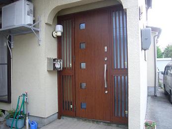 防犯優れているドアになり安心に暮らせて嬉しいです。