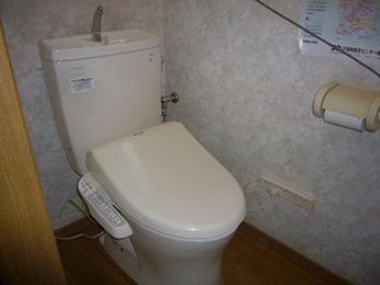 新しいトイレは使い勝手も良いので変えてよかったです。ありがとうございます。