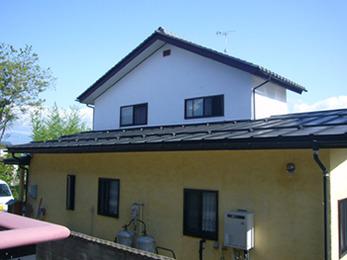 屋根の傷みもなくなり安心して暮らすことができます。