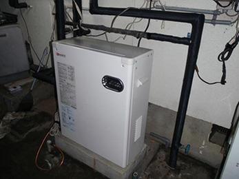 即日対応で給湯機を取り替えていただき助かりました。