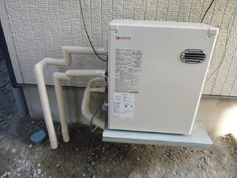給湯器が故障を起こしていたので、これからは安心して使えます。
