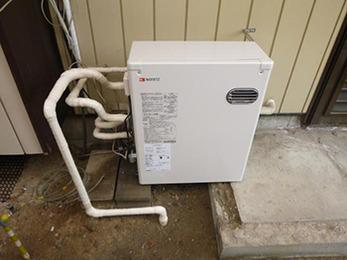 不完全燃焼を起こしていた給湯機が新しくなり、とても嬉しいです。