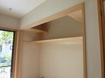 収納棚が増え、片付けがとてもしやすくなりました。