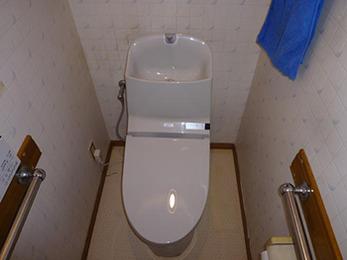 使い勝手の良いトイレになり嬉しいです。
