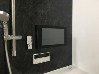 浴室テレビを設置しました!