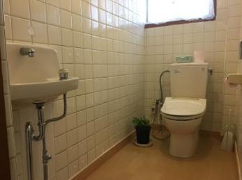 トイレが広くなりました。