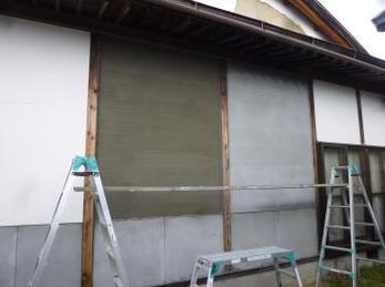 日本の塗り壁しっくい