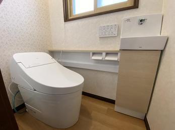まるで違ったトイレになりました。